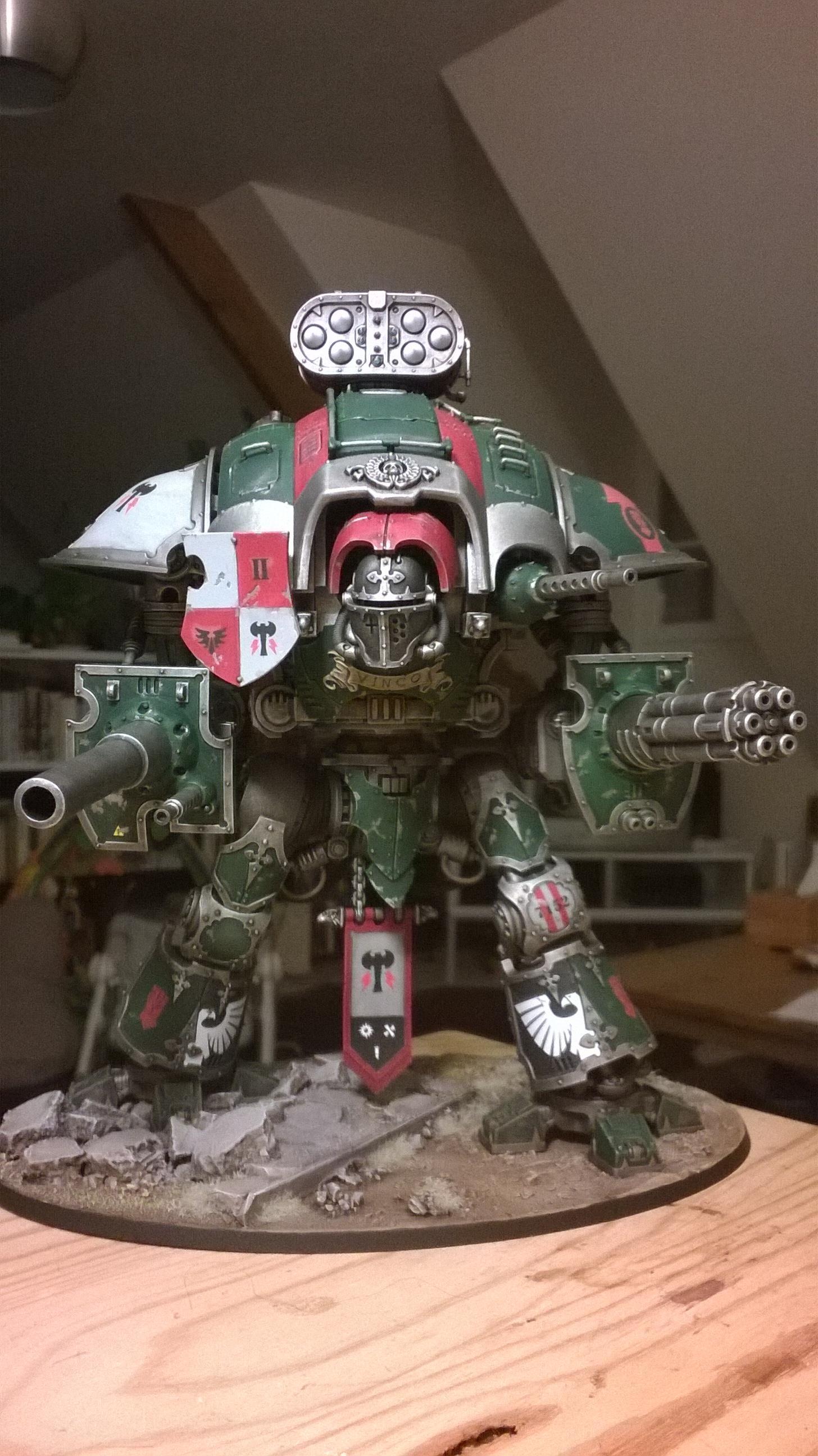 Imperial Knight, Magnet, Work In Progress
