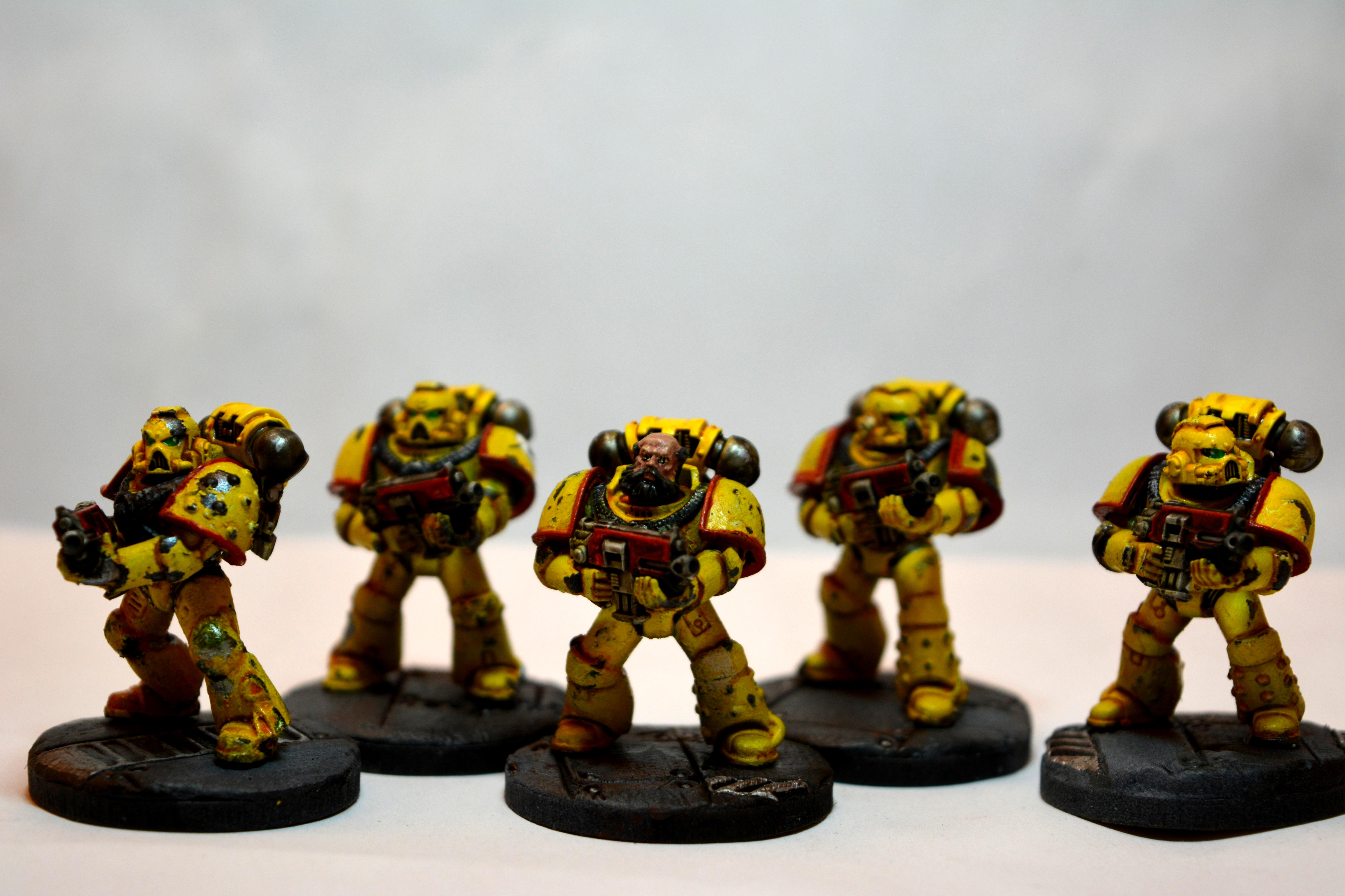 Fists, Imperial, Imperial Fists, Space, Space Marines, Warhammer 40,000, Warhammer Fantasy