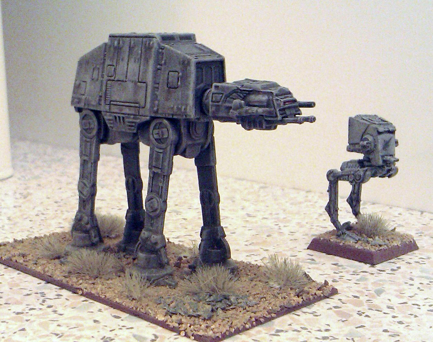 AT-AT, At-st, Desert, Empire, Epic, Imperial, Mech, Robot, Sentinel, Star Wars, Transport, Walker, X-Wing
