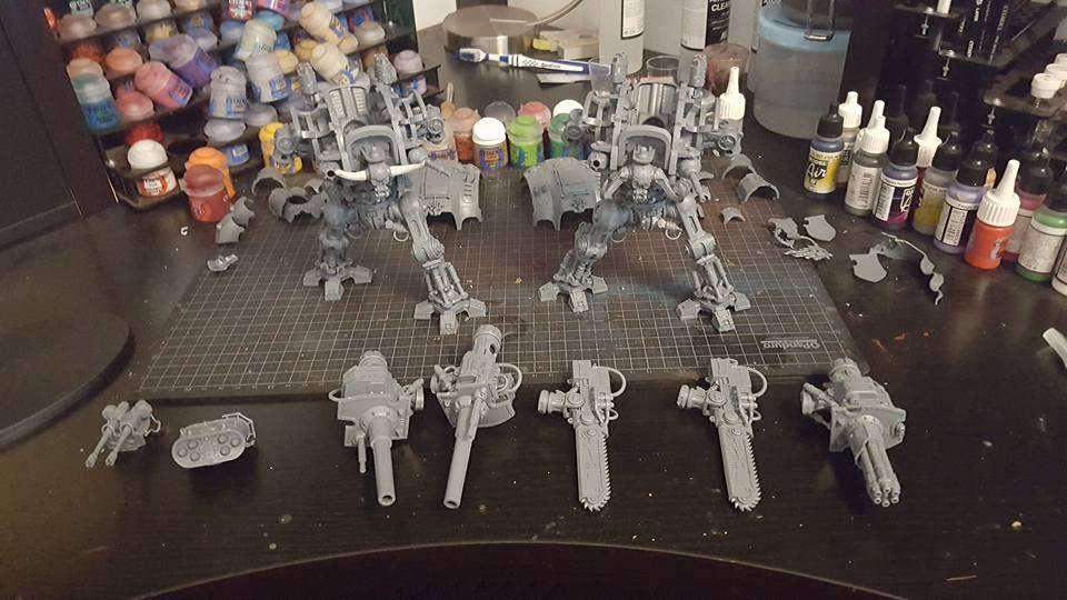 Chaos Knights - Very WIP