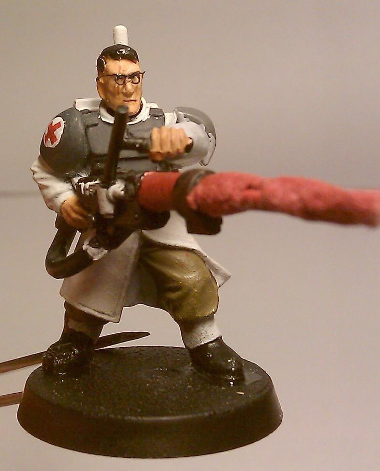 Conversion, Imperial Guard, Medic, Refrence, Team Fortress