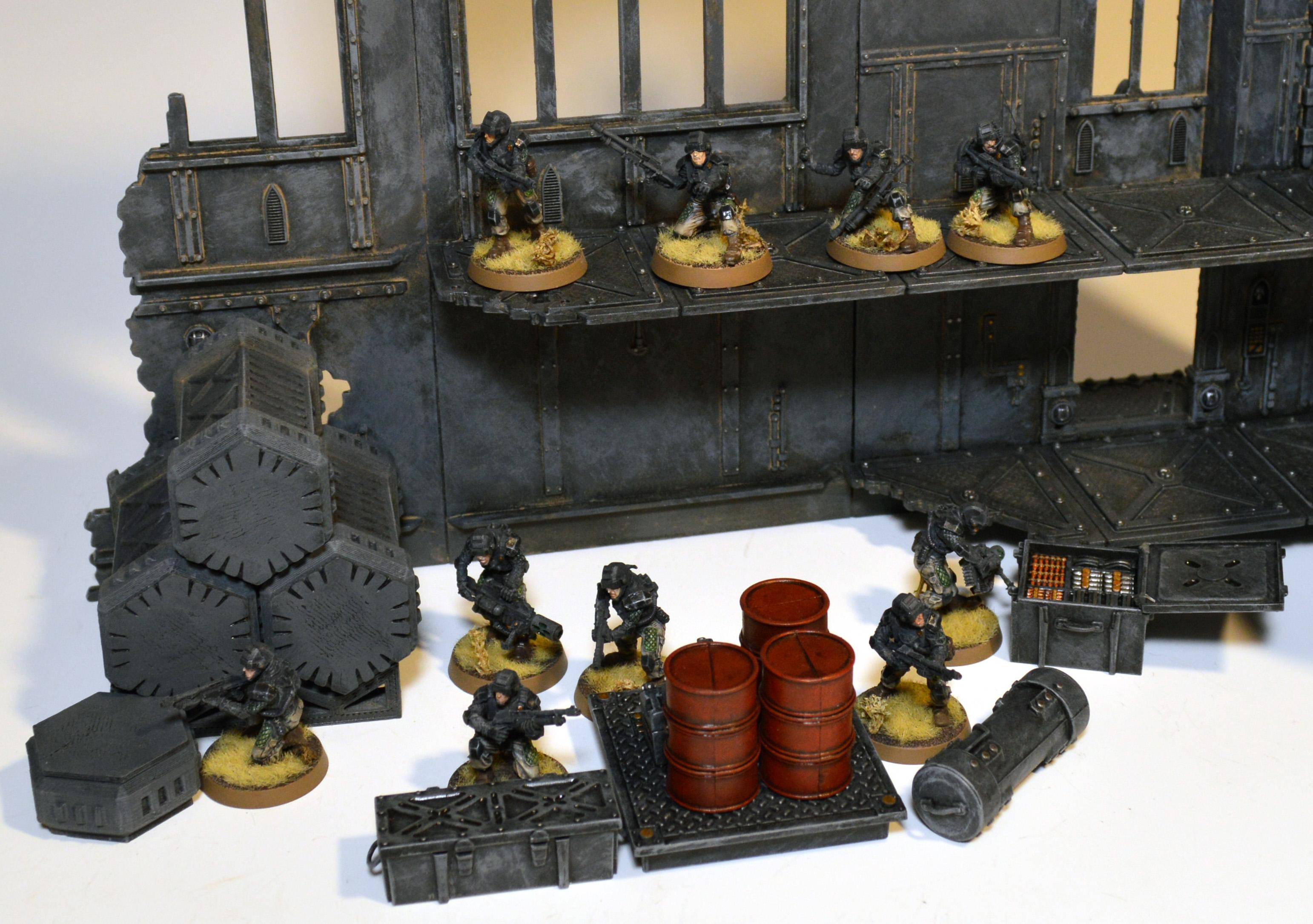 Elysian, Imperial Guard, Terrain, Warhammer 40,000