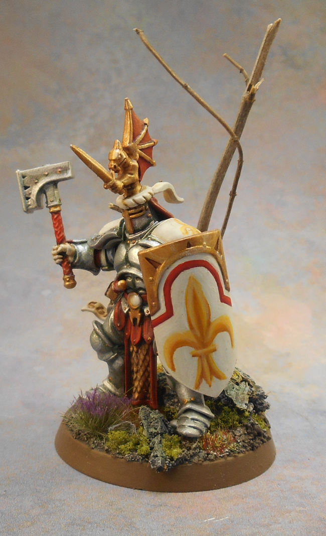 Age Of Sigmar, Bretonnians, Crest, Great Helm, Hero, Knights, Sigmarines, Stormcast