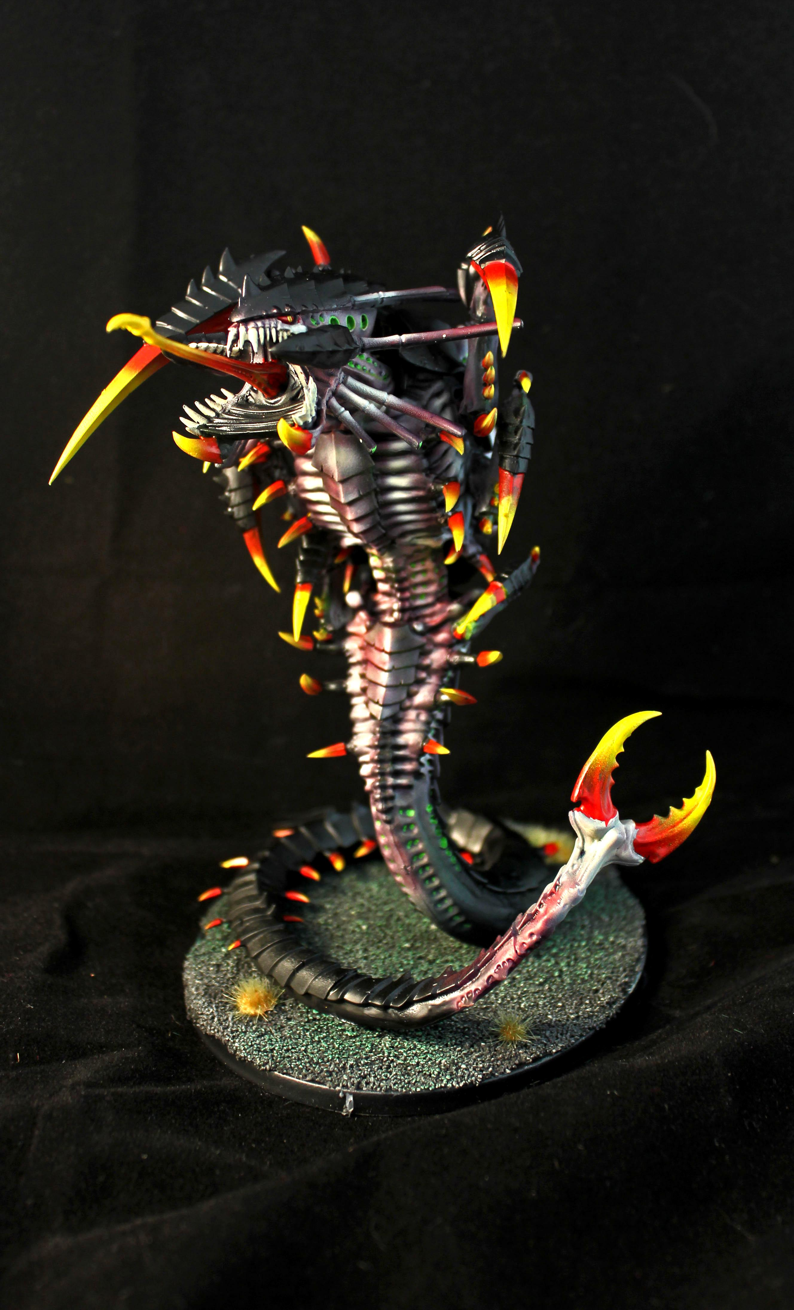 Another Tyranid Done, But Still Fun To Do, This One Was A Commission Instead Of Keeping For Personal Use