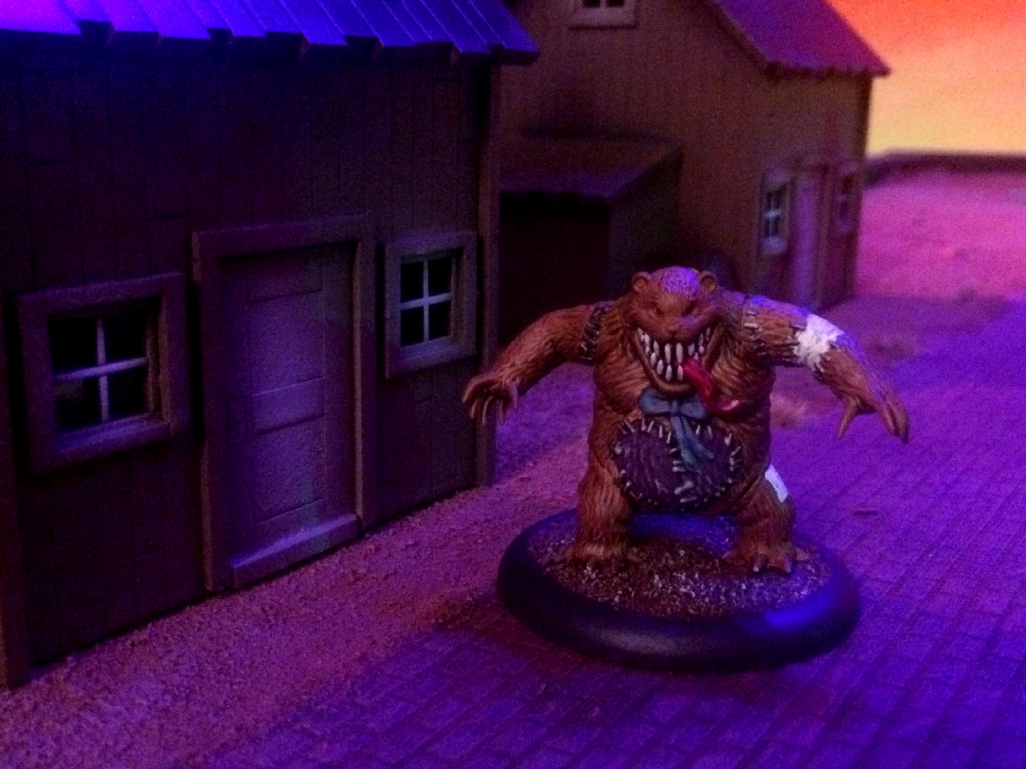 Board, Docks, Game Board, Game Table, Guild, Malifaux, Neverborn, Sunset, Swamp, Water, Western