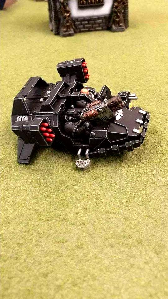 Dark Angels, Land Speeder, Ravenwing