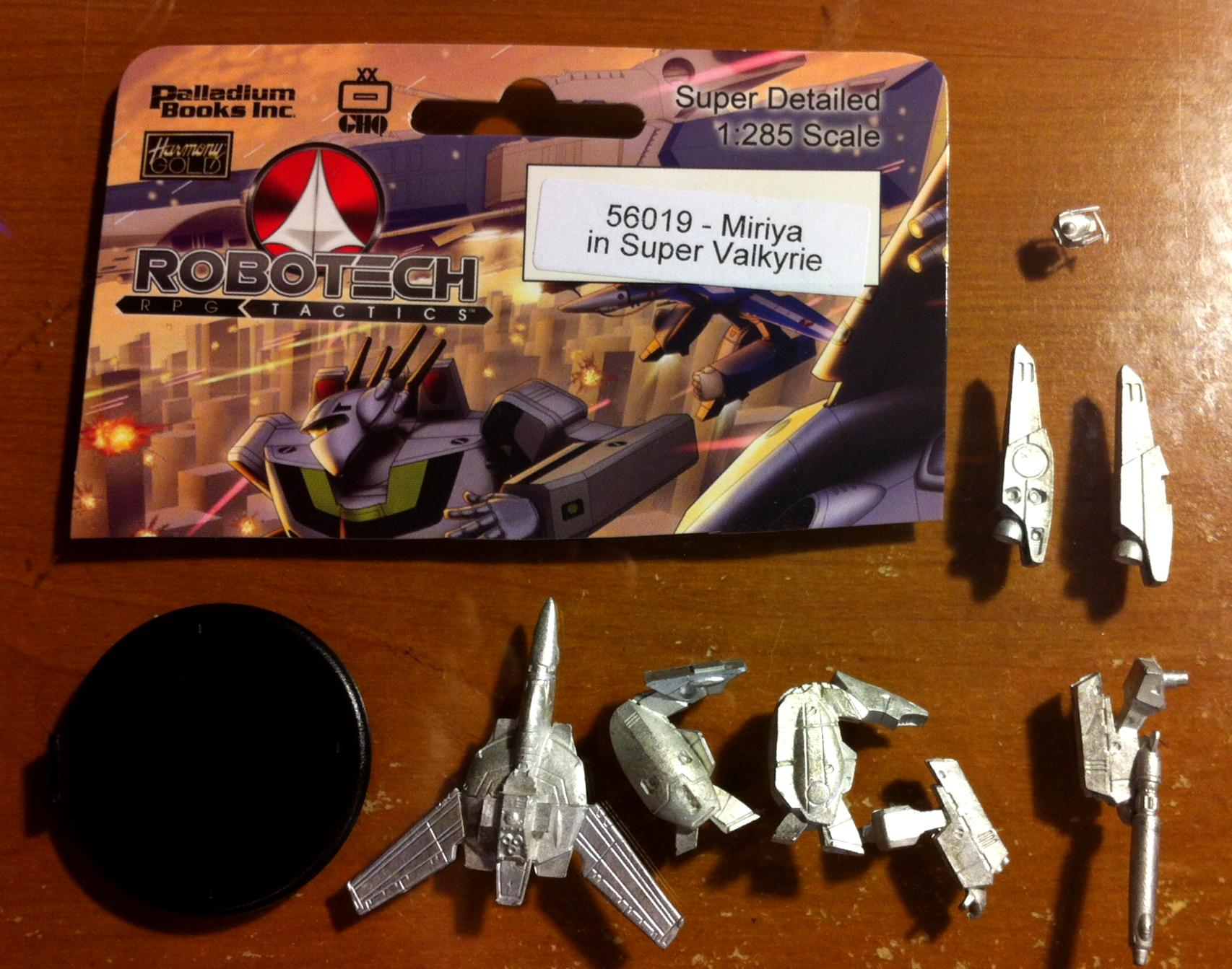 Backer, Figure, Palladium, Promotional, Robotech