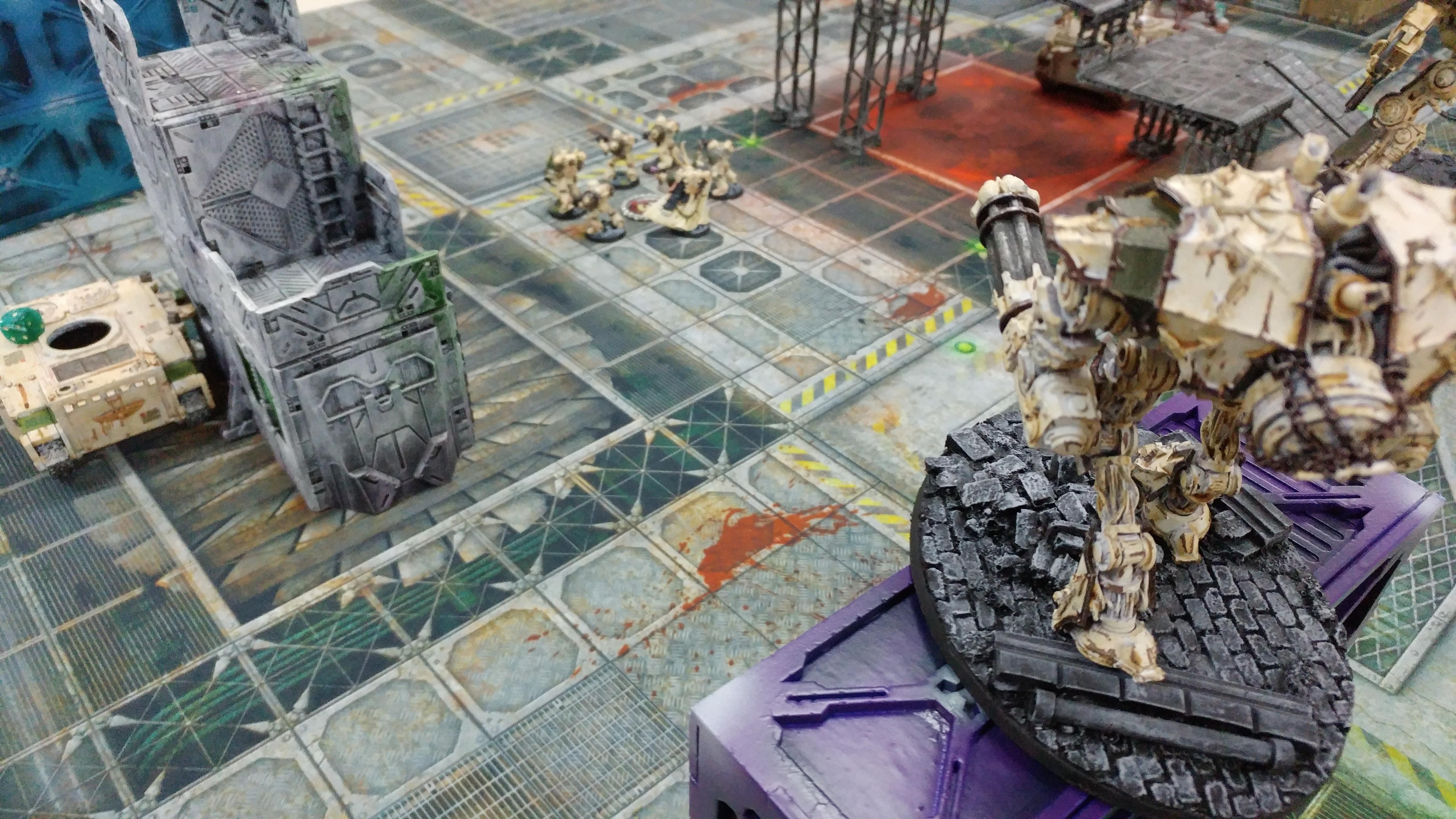 Death Guard, Forgefiend, Terrain, Tournament
