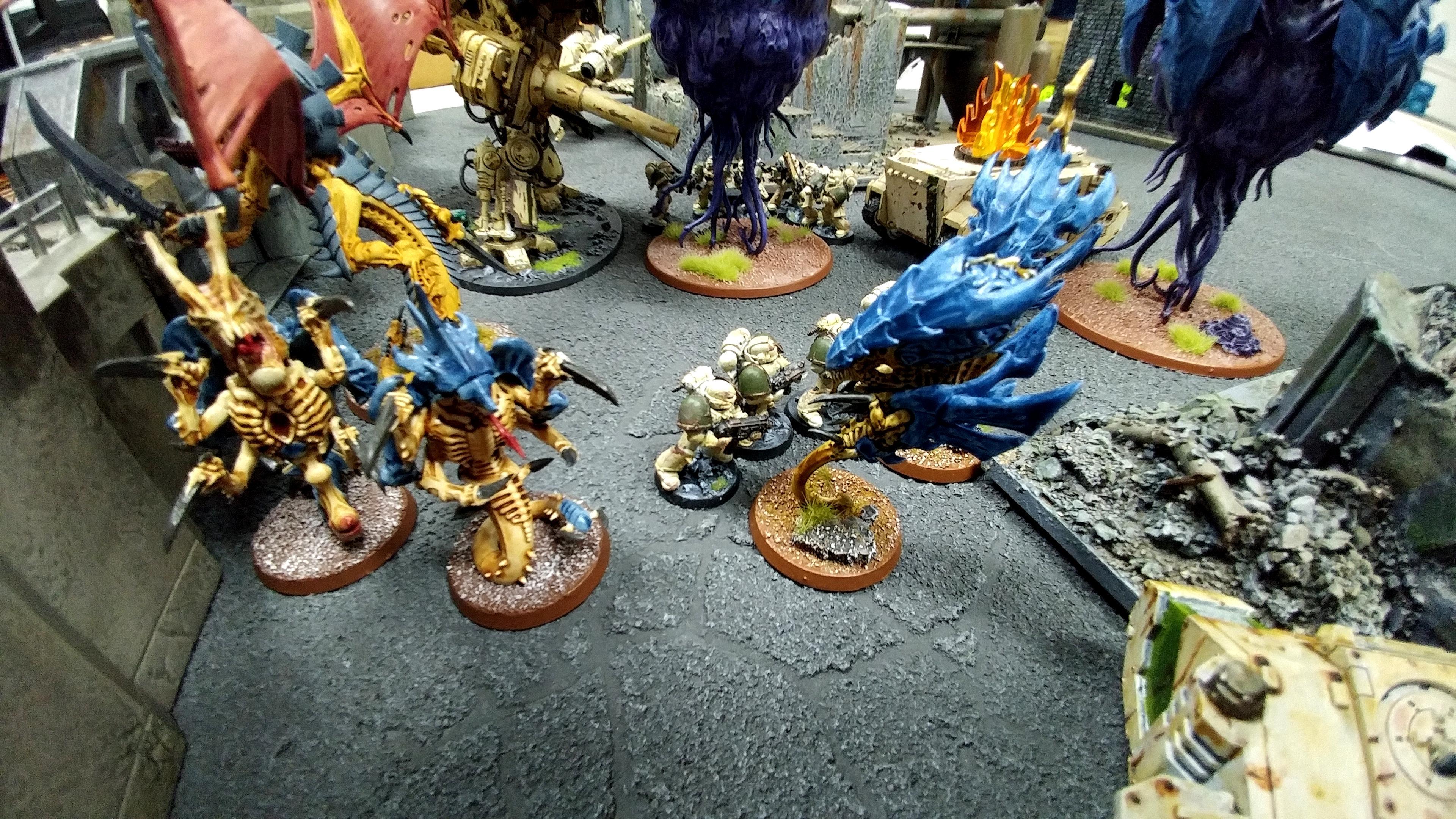 City, Death Guard, Fr1sked1ngo, Terrain, Tournament, Tyranids
