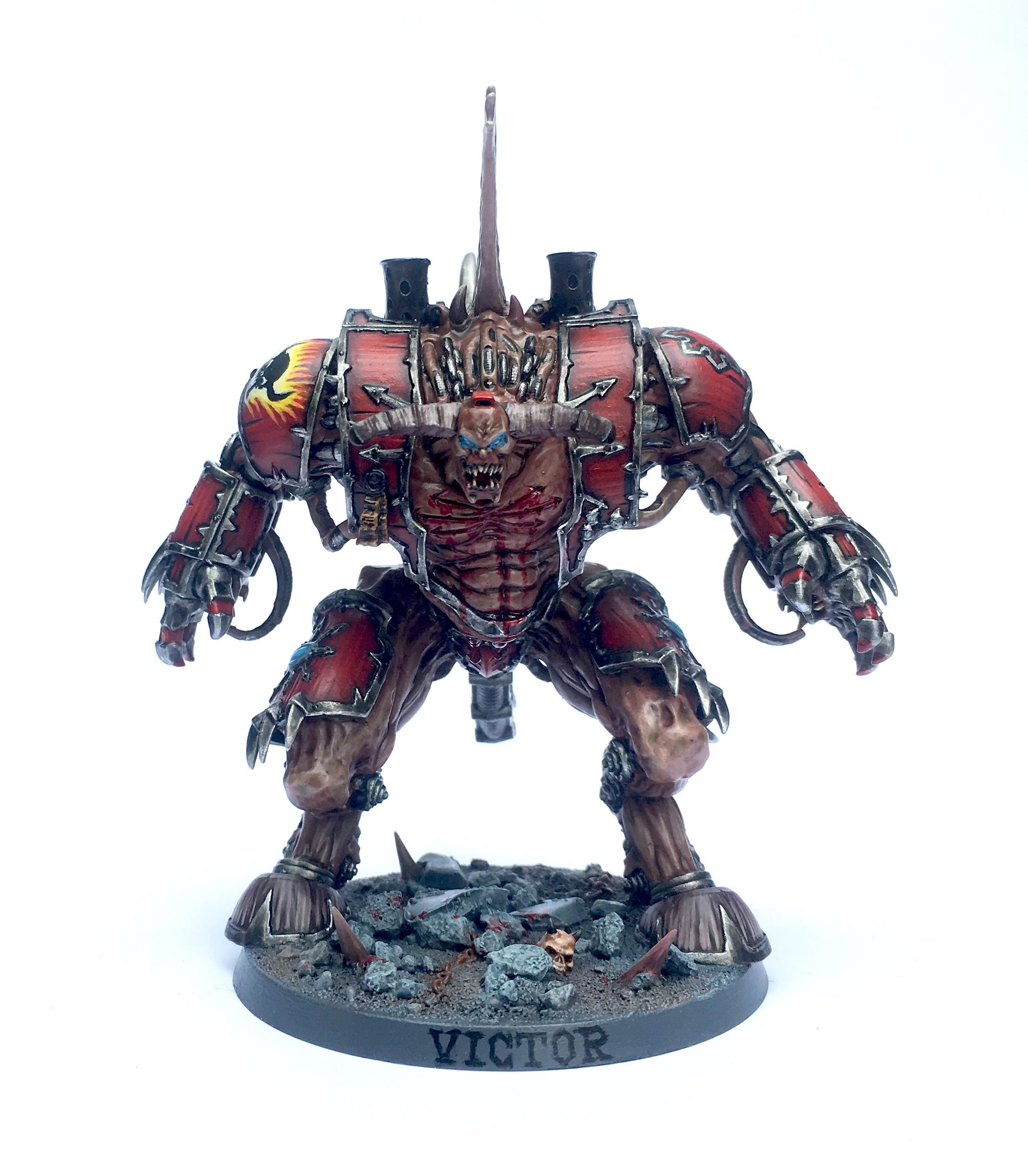 Chaos, Chaos Space Marines, Conversion, Daemon Prince, Helbrute, Horuswasright, Word Bearers