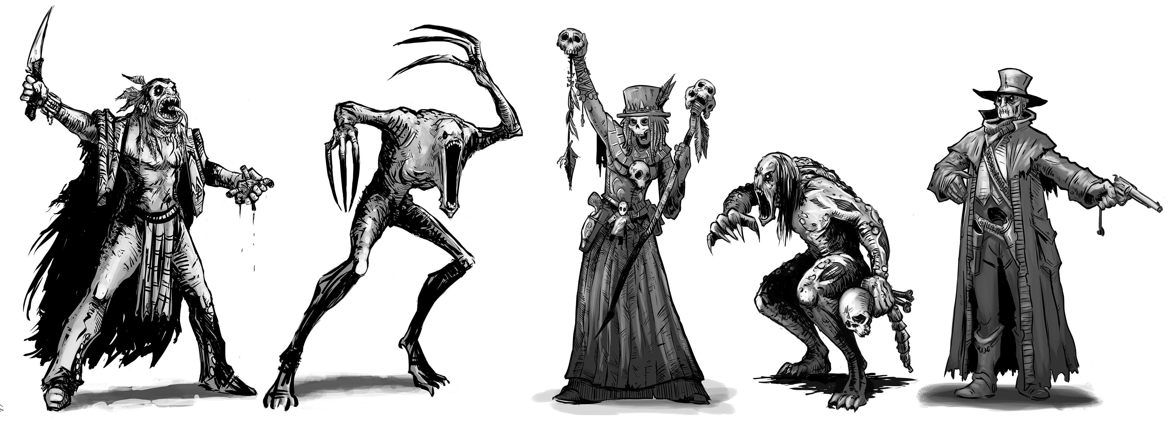 The Wicked concept art