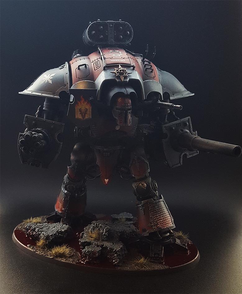 Chaos Knight, Word Bearers