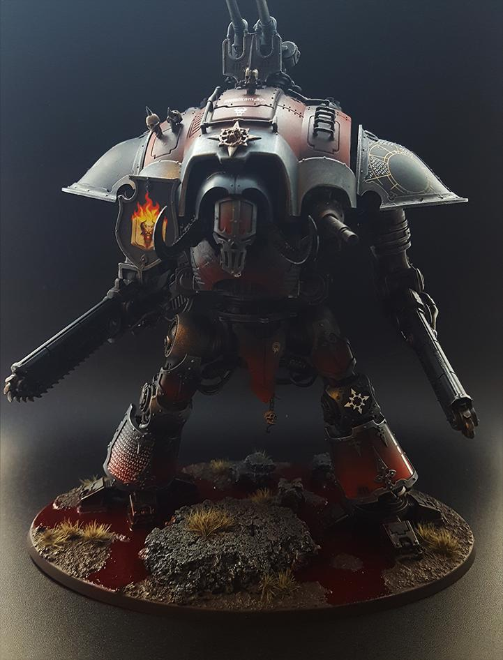 Imperial Knight, Renegade, Titan, Warhammer 40,000, Word Bearers