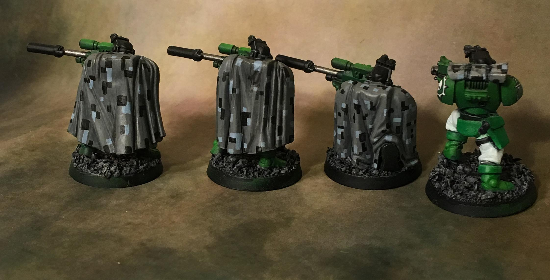 Camouflage, Cloaks, Digital Camo, Scouts, Snipers, Space Marines