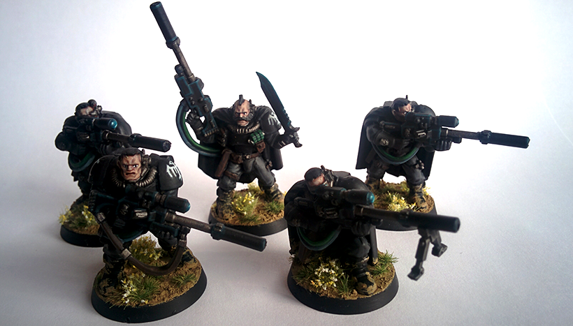 Ravenguard, Scouts, Snipers
