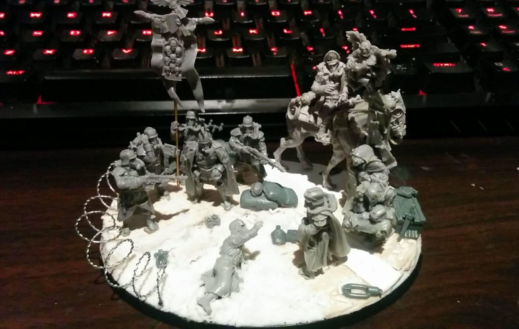 Death Korps of Krieg, Diorama, Imperial Guard