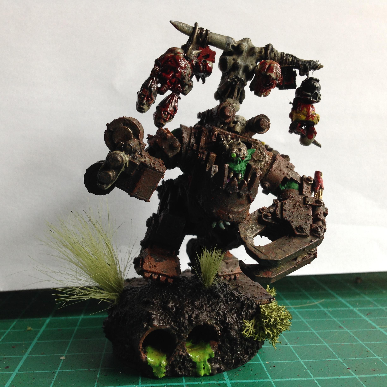 Mega Armor, Orks, Snakebite, Thrakka