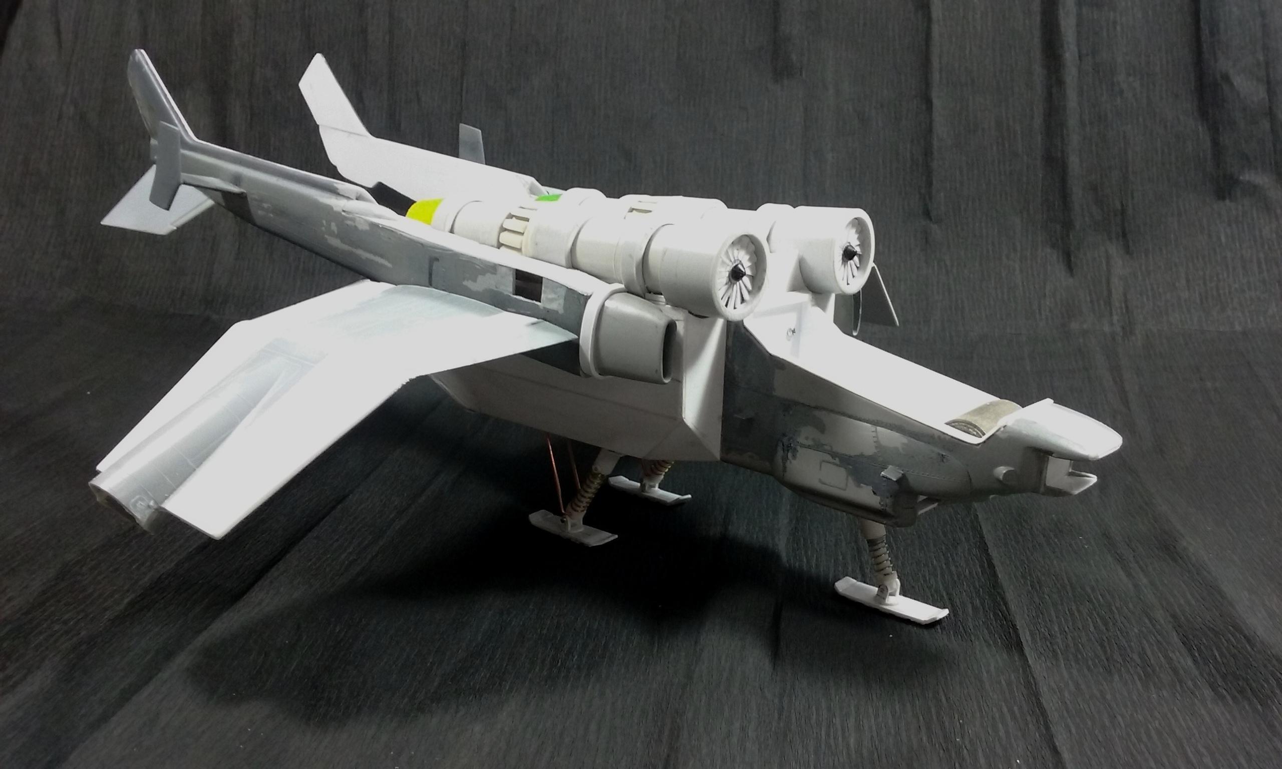 Am, Astra Militarum, Conversion, Imperial Guard, Scale Model, Scratch Build, Valkyrie