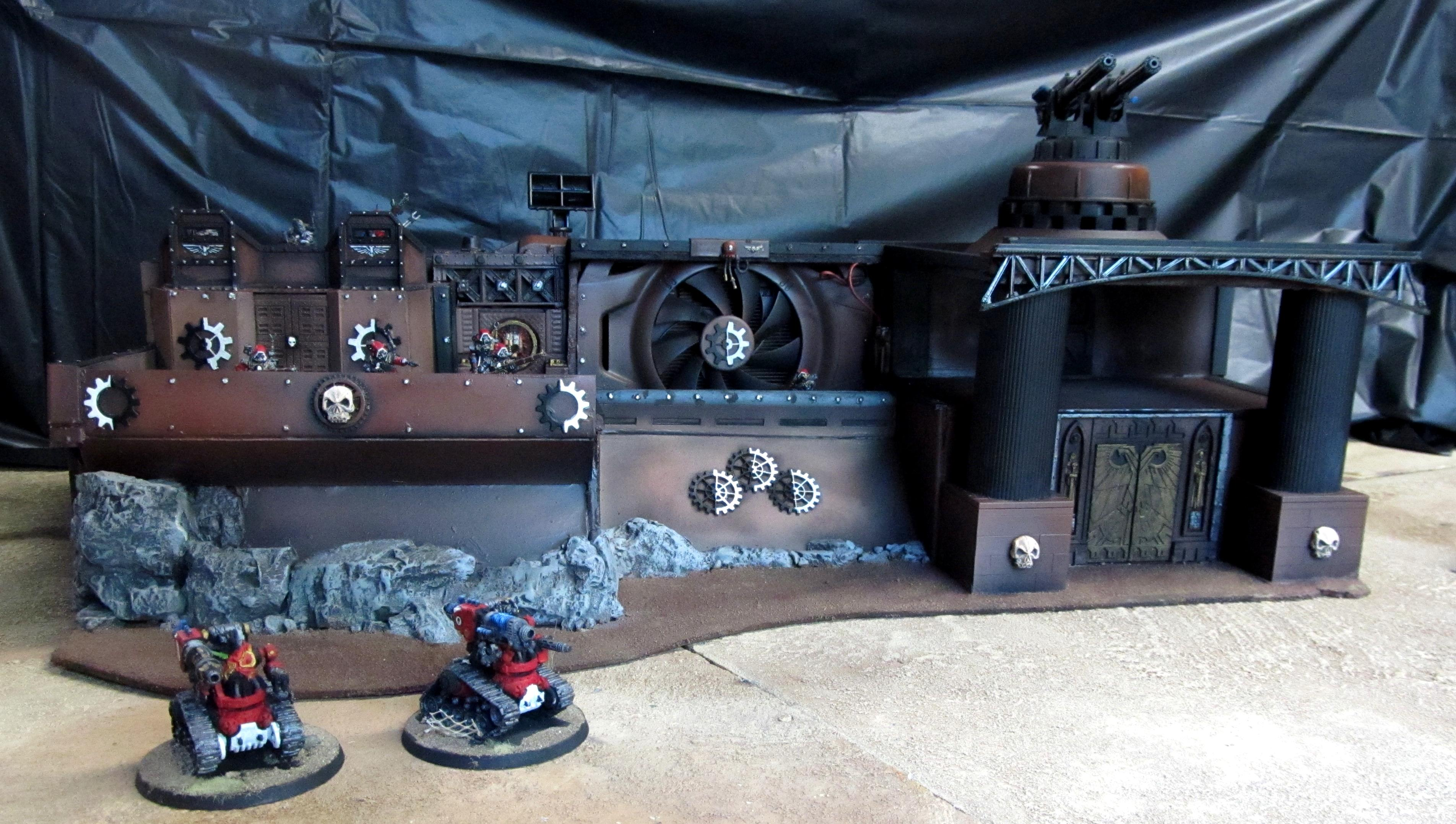 Fortress, Machine Cult, Mechanicus, Skitarii, Terrain, Warhammer 40,000