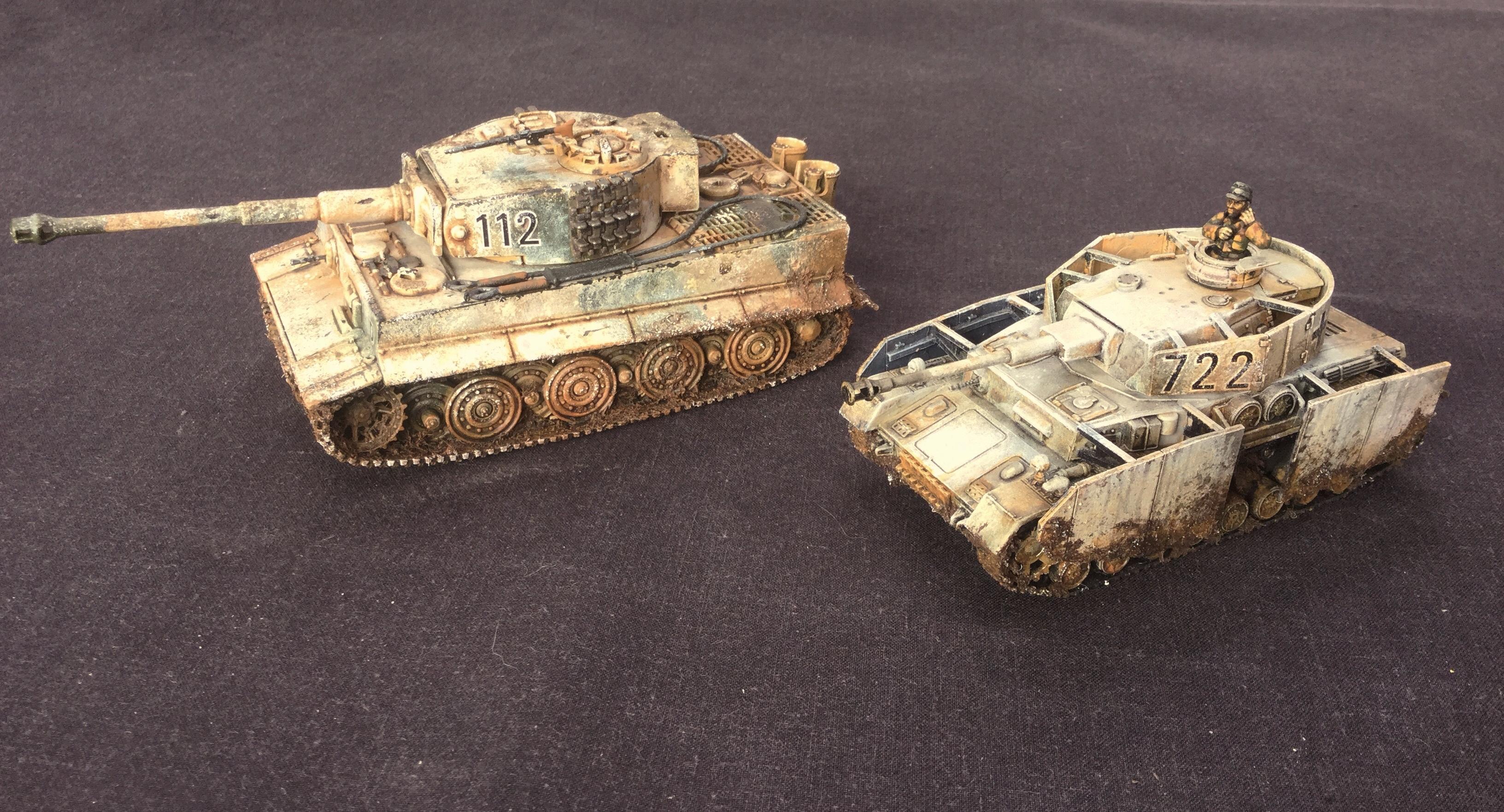 Germans, Miniatures, Nazi, Tank, World War 2