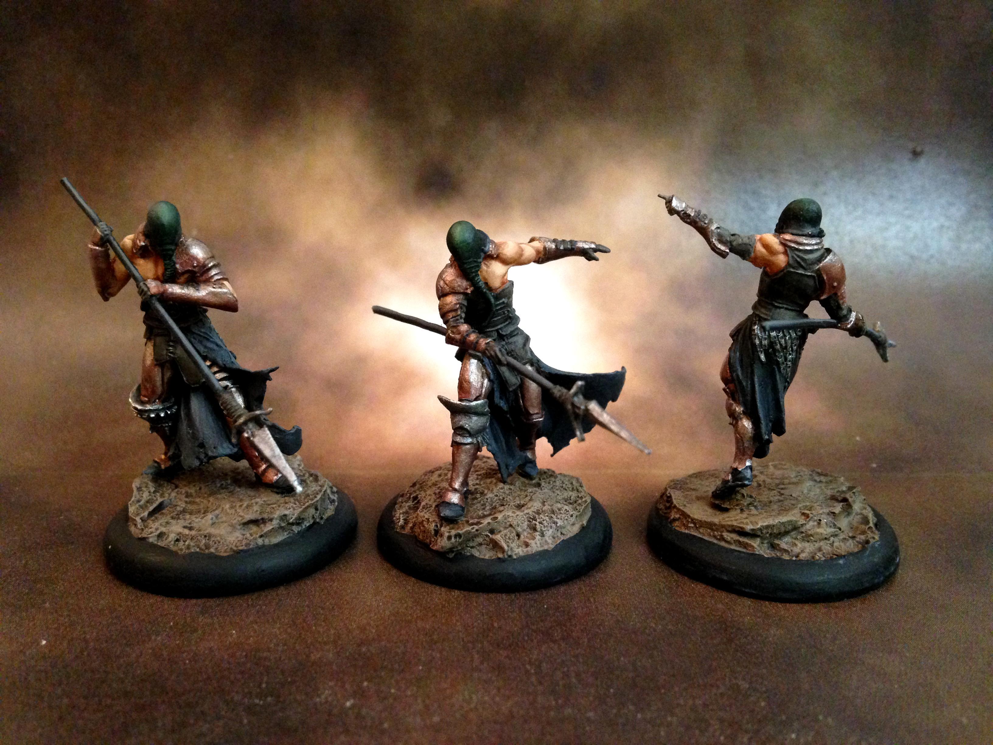 Dark Age, Forsaken, Saint Luke, Stingers