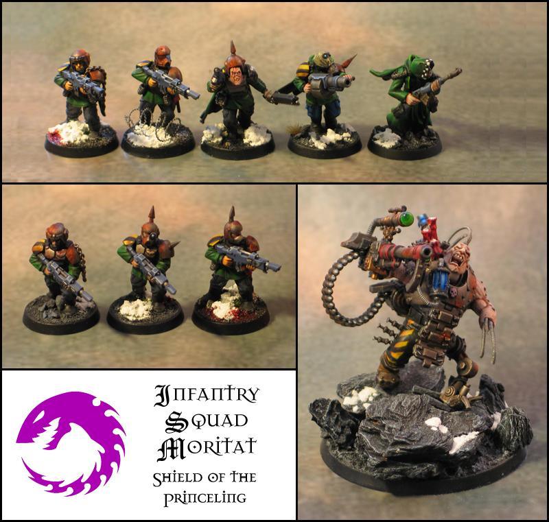 Astra Militarum, Conversion, Genestealer Cult, Infantry Squad