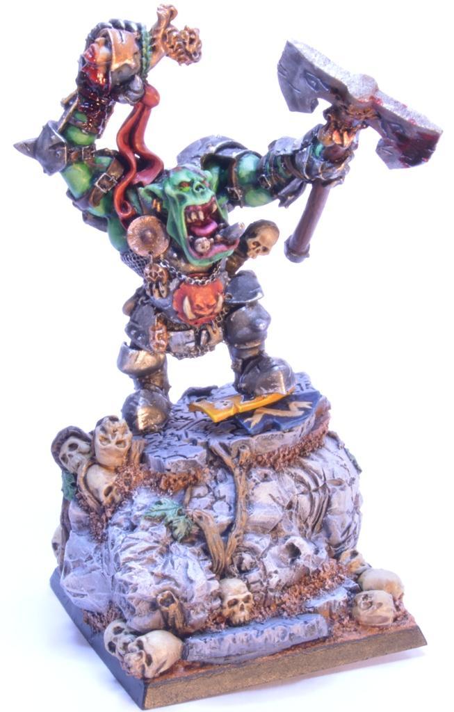 Black Orc, Grimgor Ironhide, Orcs, Warboss