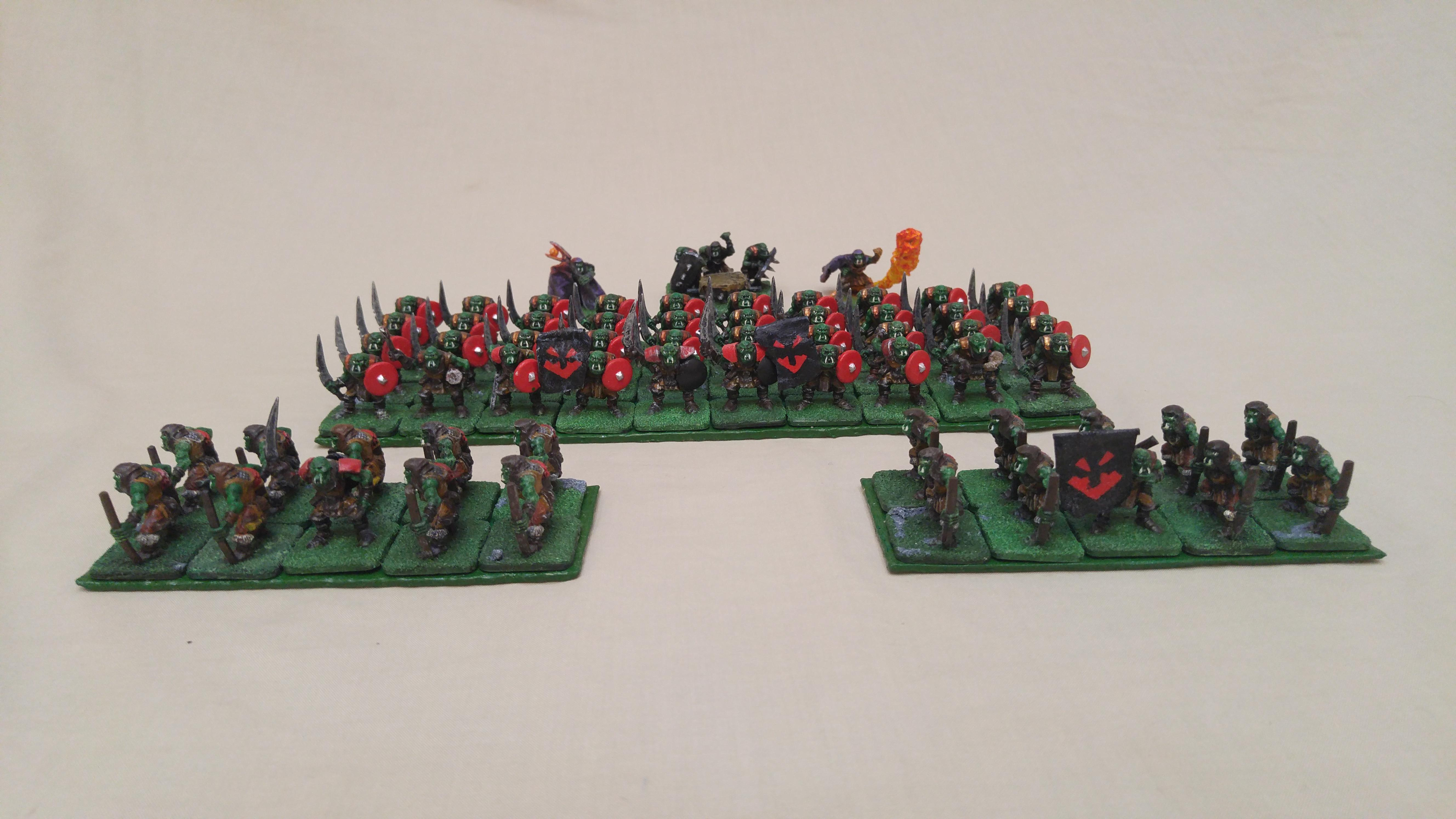 Ax Horde, Cheap, Em4, Fire, Godspeaker, Kings Of War, Kow, Object Source Lighting, Orcs, Orks, Skulk, War Drum