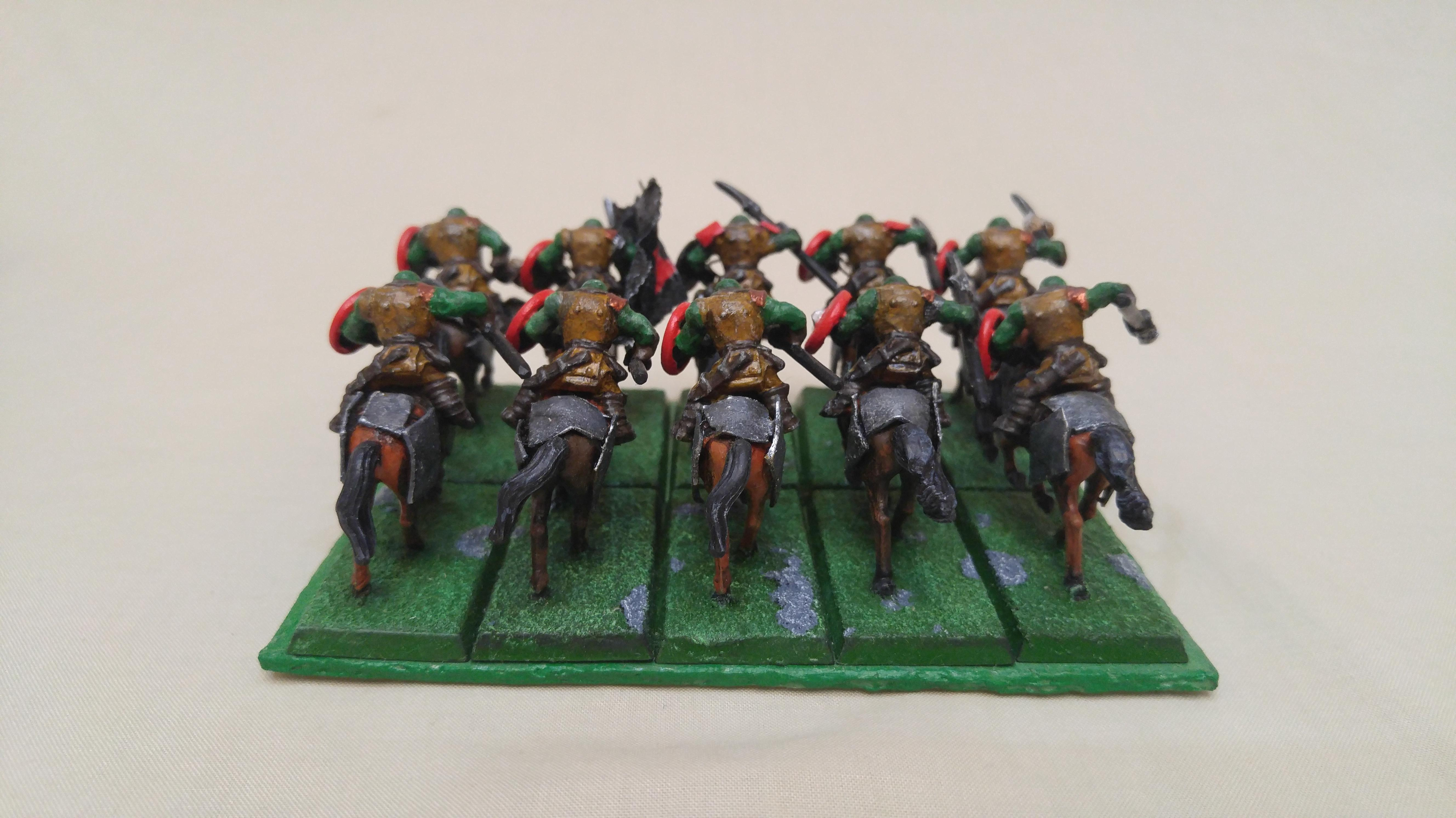 Cavalry, Cheap, Conversion, Em4, Kings Of War, Kow, Orcs, Orks, Wargames Factory