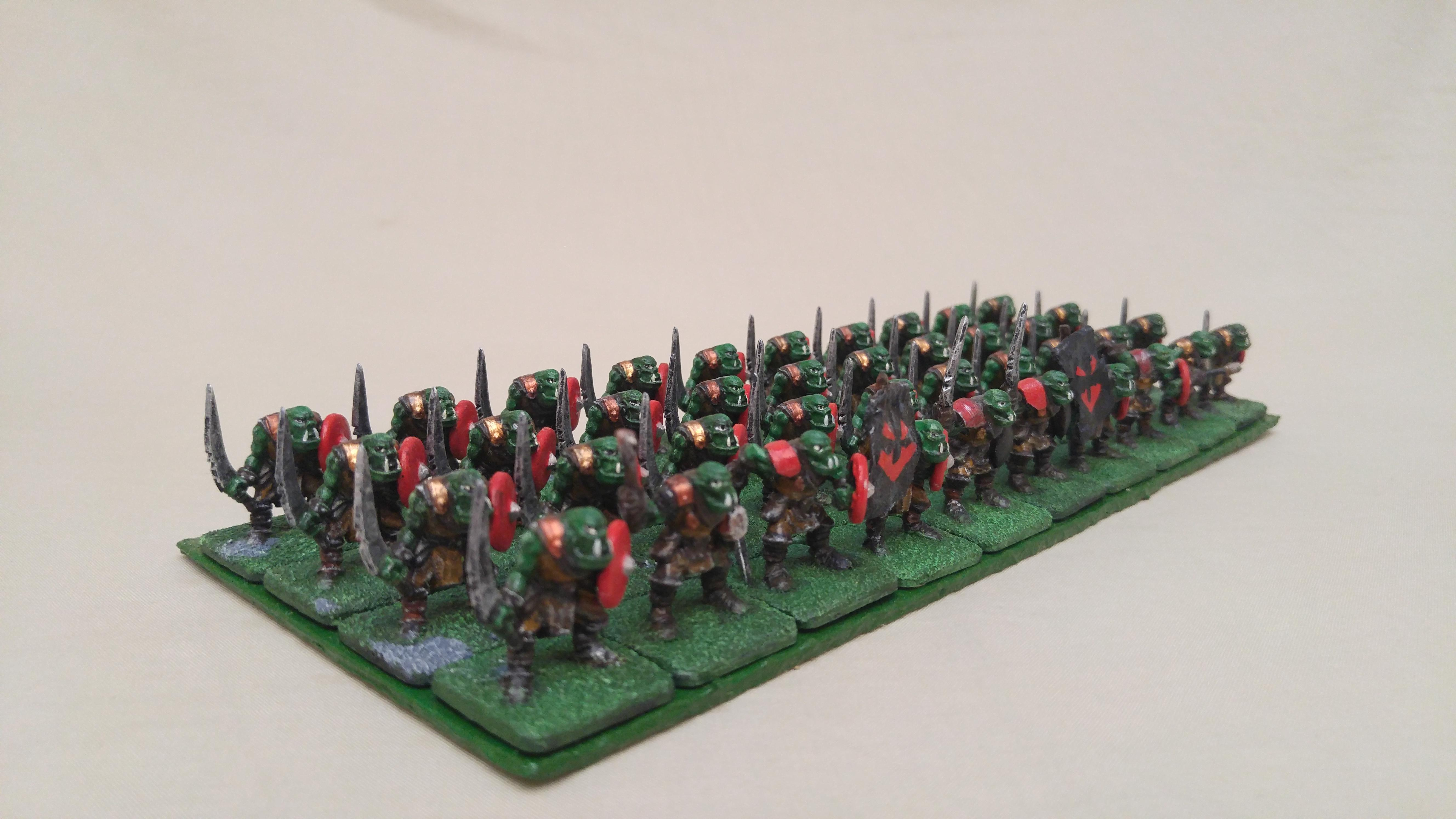 Ax, Ax Horde, Cheap, Em4, Kings Of War, Kow, Orcs, Orks