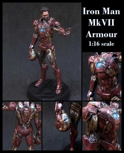 1:16, Avengers, Collectable, Comic, Figurine, Hero, Iron Man, Large Scale, Marvel, Superhero