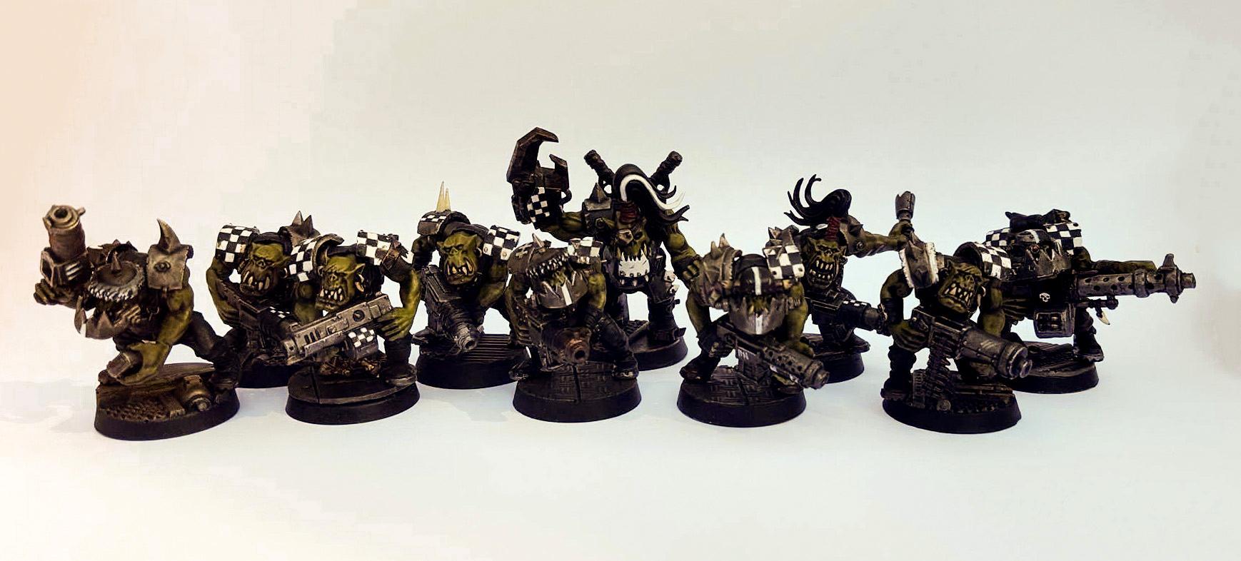 'ard Boyz, 'eavy Armour, 'ere We Go, Battle Worn, Boy, Checkers, Checks, Dirty, Goffs, Gorbash, Industrial, Iron Gob, Mob, Ork Boyz, Orks, Realistic, Rust, Rusty, Shootas, Waaaagh