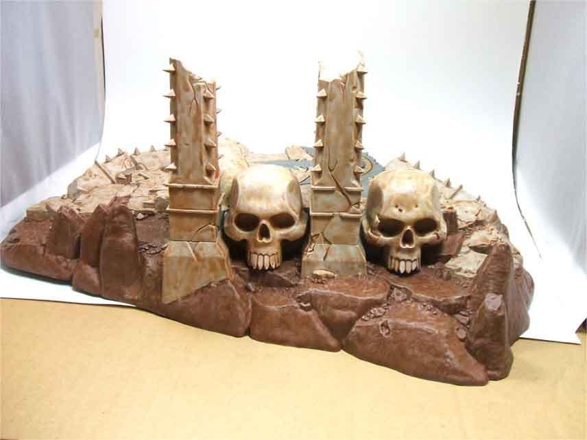 Skull, Temple Of Skulls, Terrain Temple, Warhammer Fantasy