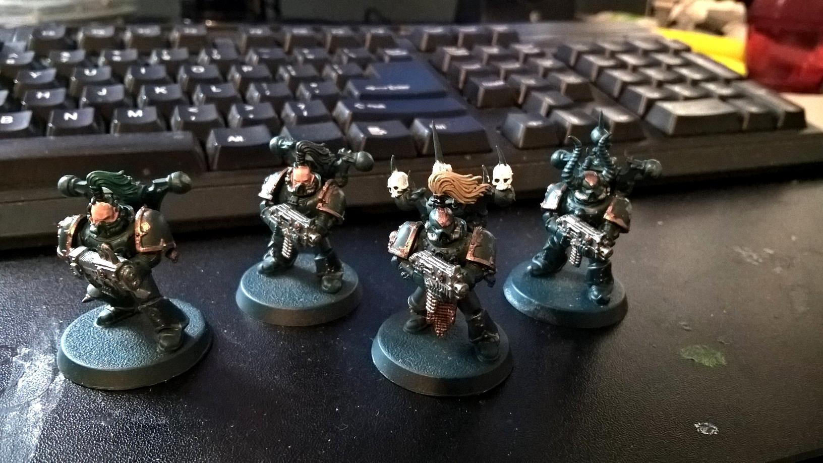 Chaos, Chaos Space Marines, Warhammer 40,000