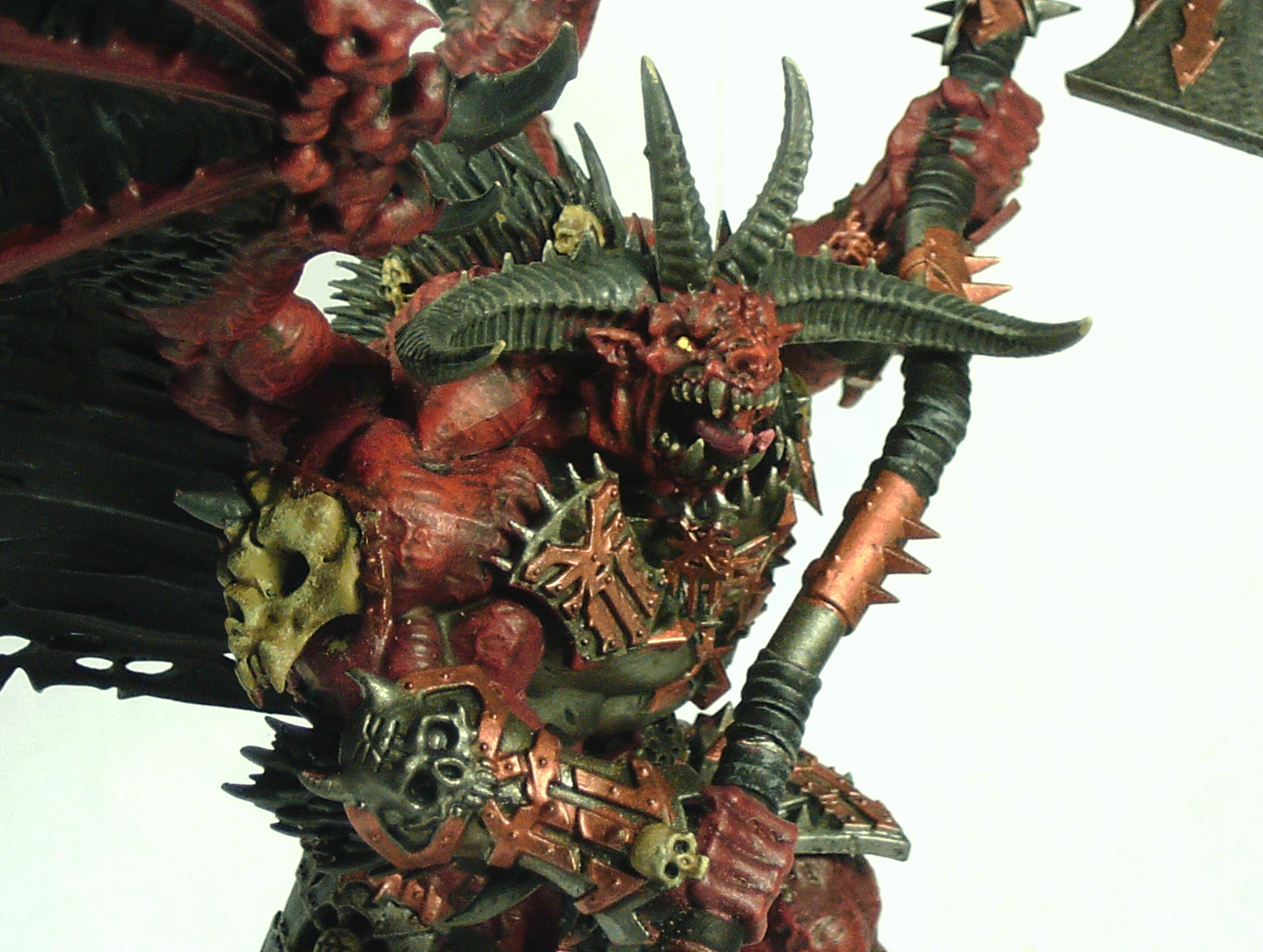 Axe, Blood, Bloodthirster, Daemons, Destroyer, God, Greater, Khorne
