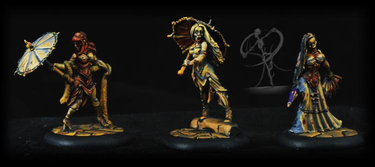 Malifaux, Non-Metallic Metal, Object Source Lighting, Resurrectionists, Undead, Zombie
