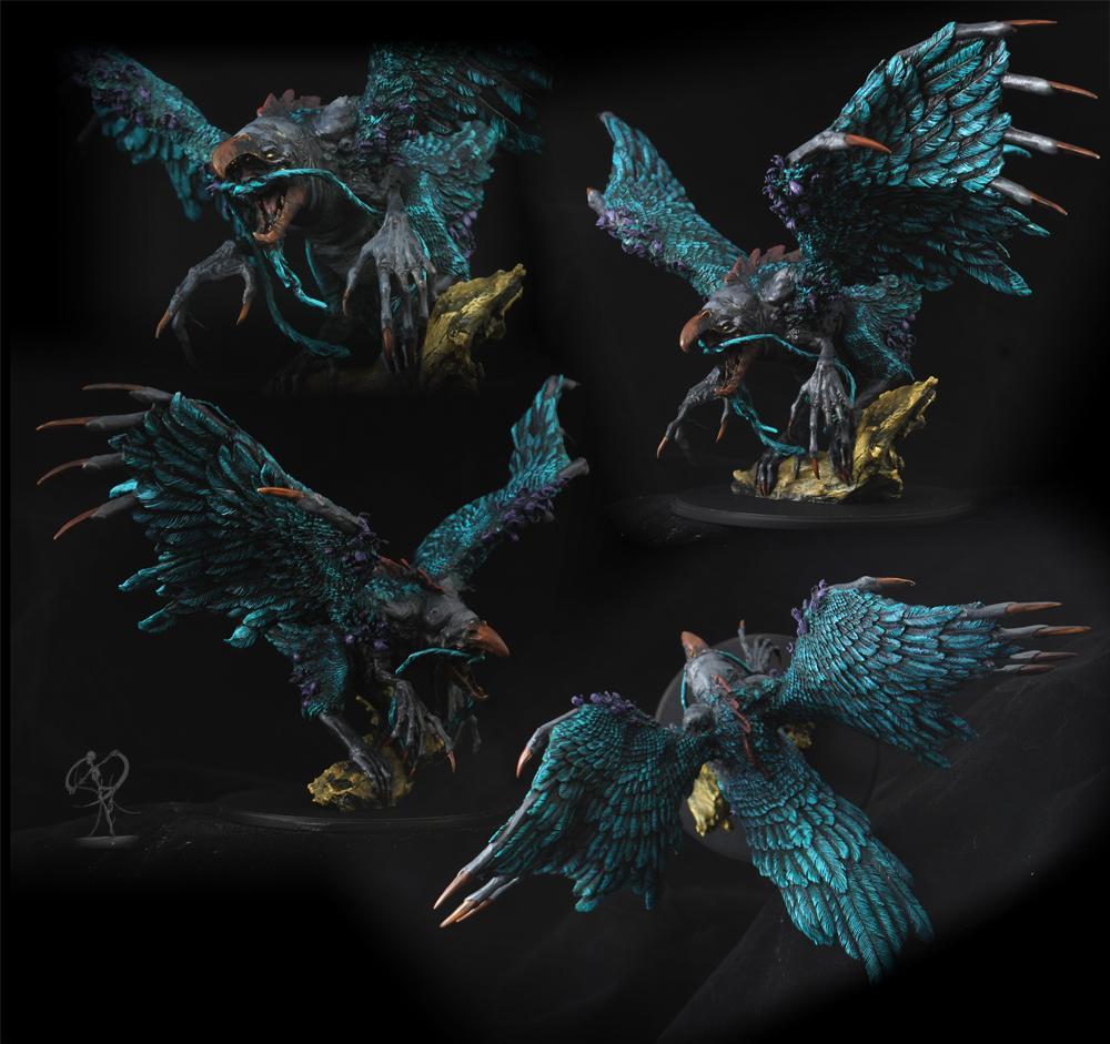 Bird, Horrors, Kingdom Death, Monster