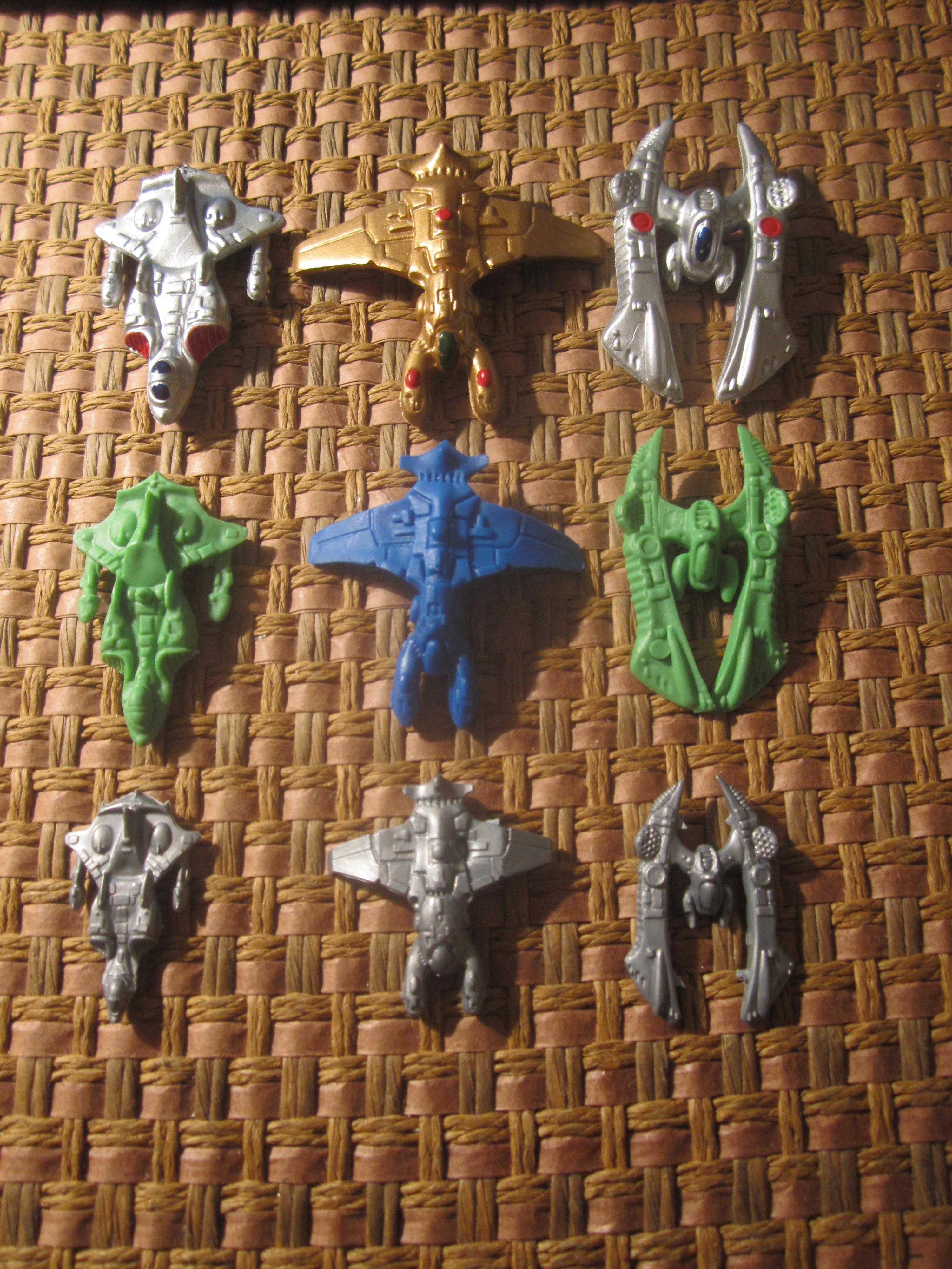 Em4, Fighter, Scale, Silent Death, Space Ship, Toy