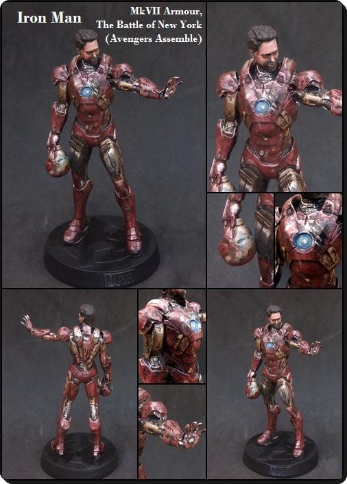 1:16, Avengers, Collectable, Comic, Figurine, Hero, Iron Man, Large Scale, Marvel
