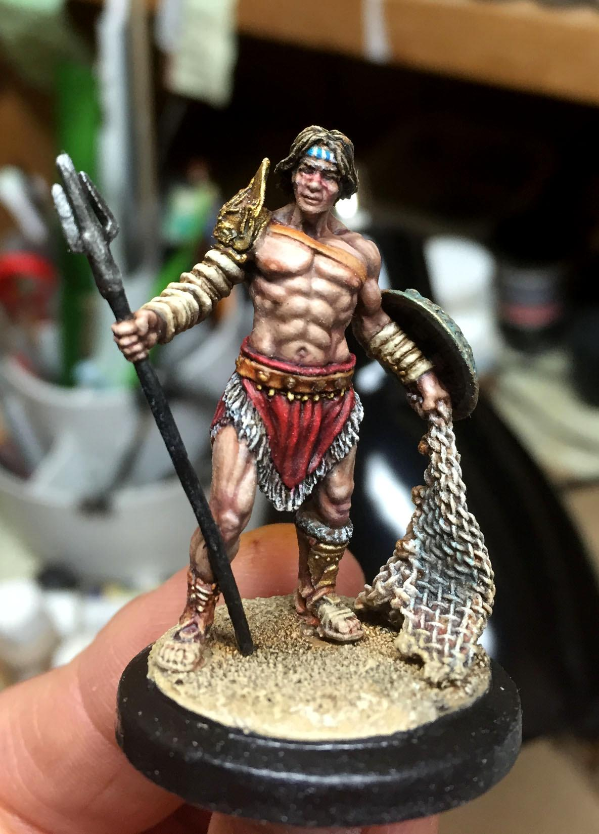 Arena Rex, Gladiator, Marcus Furius, Red Republic Games
