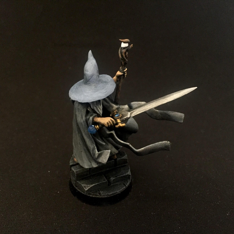 Battlemage, Conversion, Gandalf The Grey, Grey, Pointy Hat, Wizard