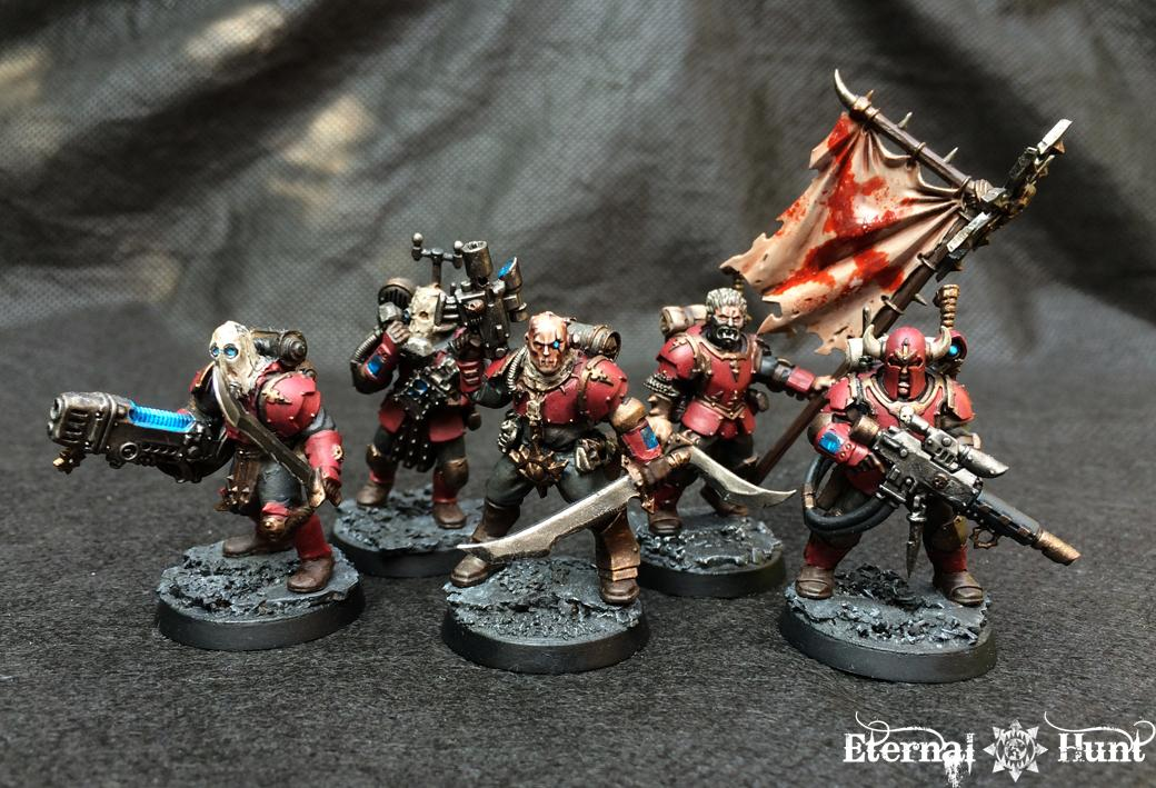 Chaos, Conversion, Cultists, Elites, Kitbash, Renegades, Tempestus Scions, Traitor Guard, Traitor Ig, Traitors, Urash's Marauders, Warhammer 40,000