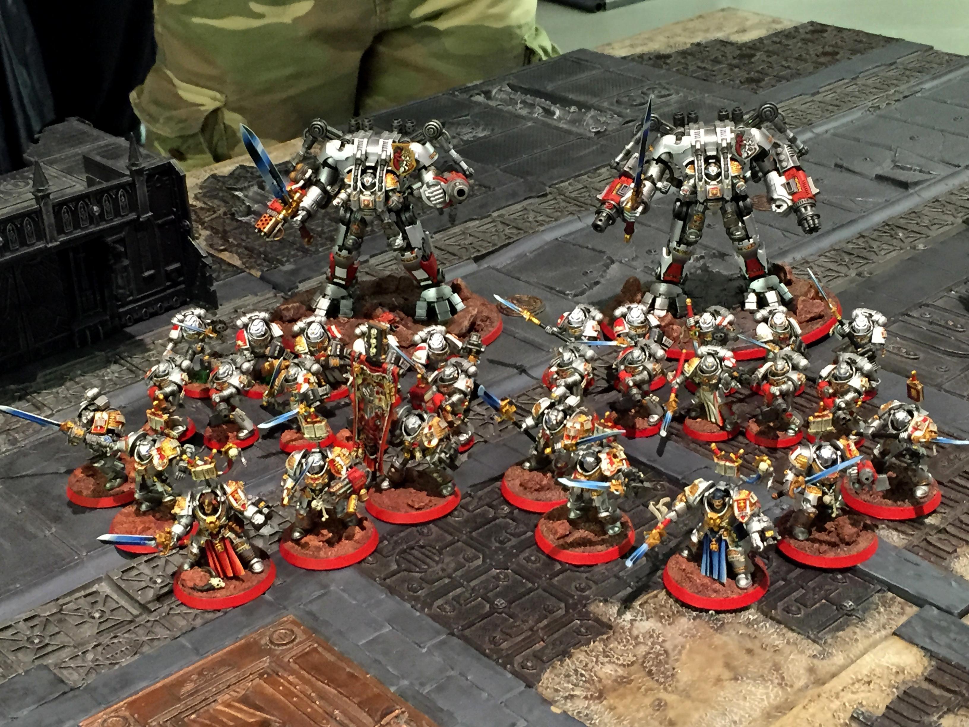 Banner, Dreadknight, Grey Knights, Paladin, Purgation, Purifier
