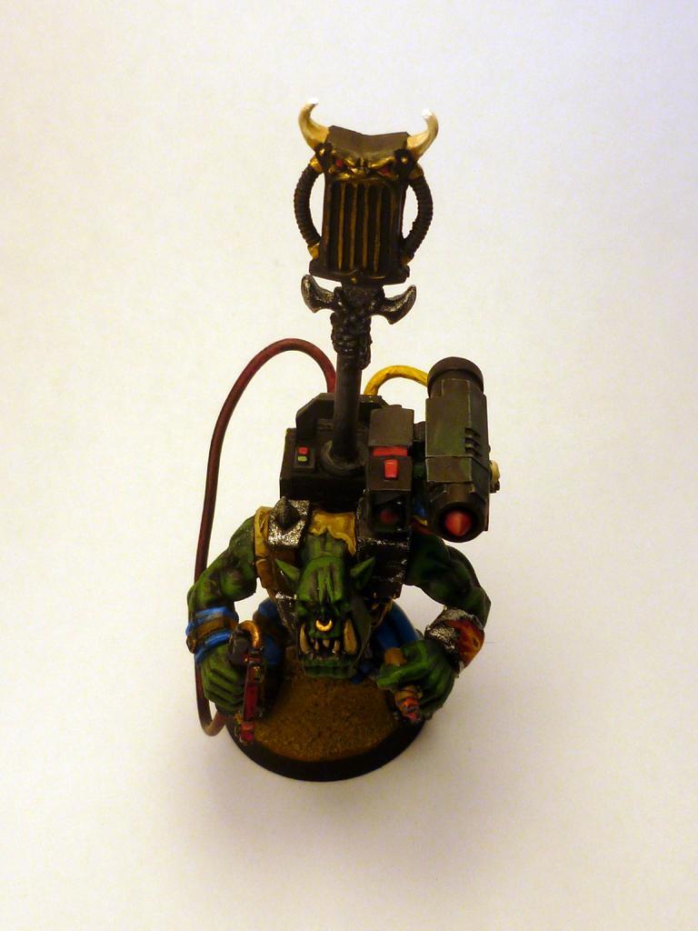 Boss, Cigar, Deathskulls, Hunter Killer, Missile Launcher, Nob, Orks, Rokkit Launcha, Tankbustas, Warhammer 40,000