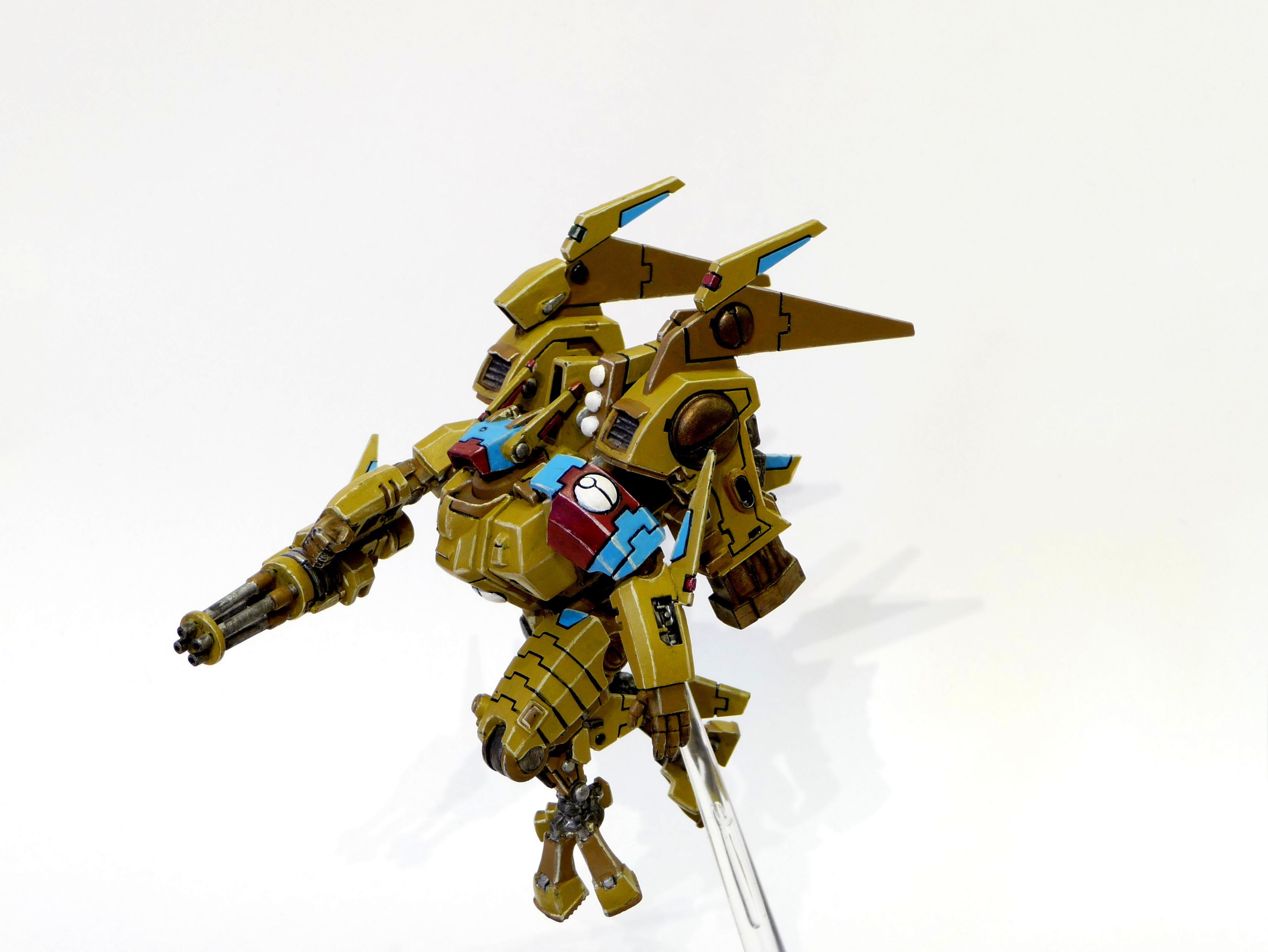 Battlesuit, Coldstar, Commander, Tau