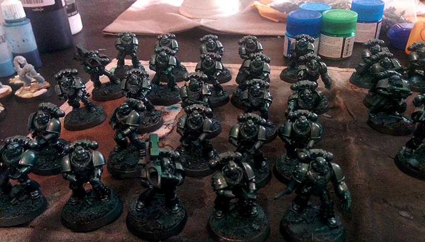 30k, Alpha Legion, Alpharius, Hh, Work In Progress