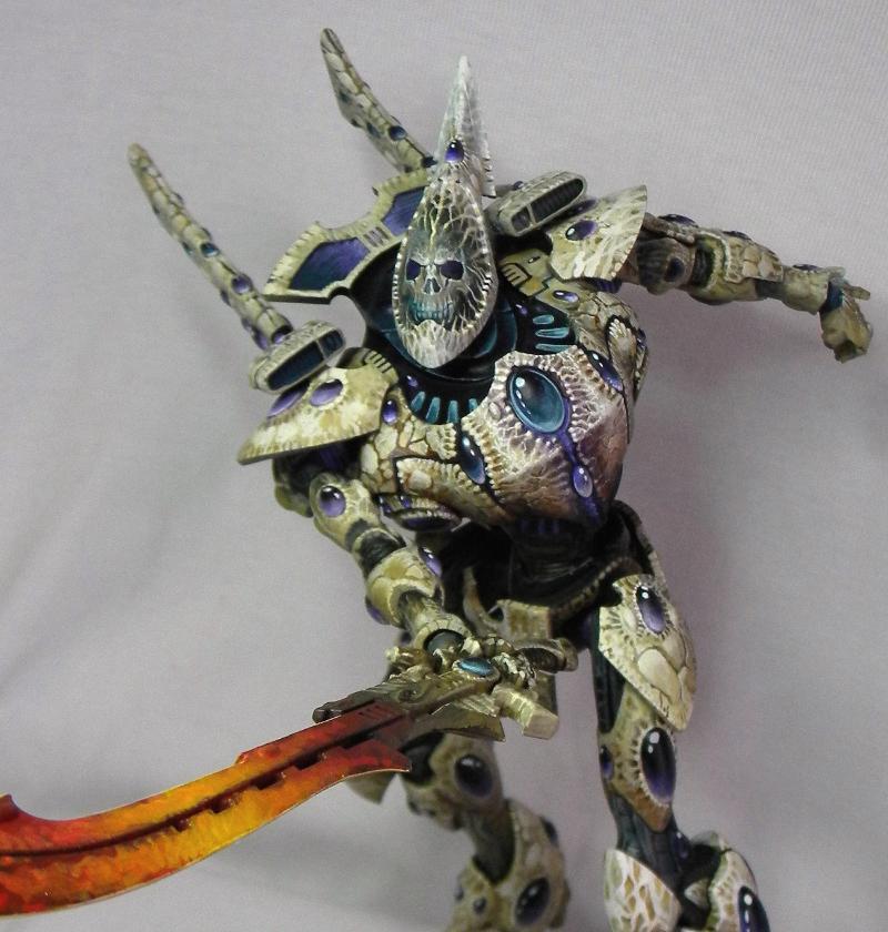 Eldar, Skull, Warhammer 40,000, Wraithknight