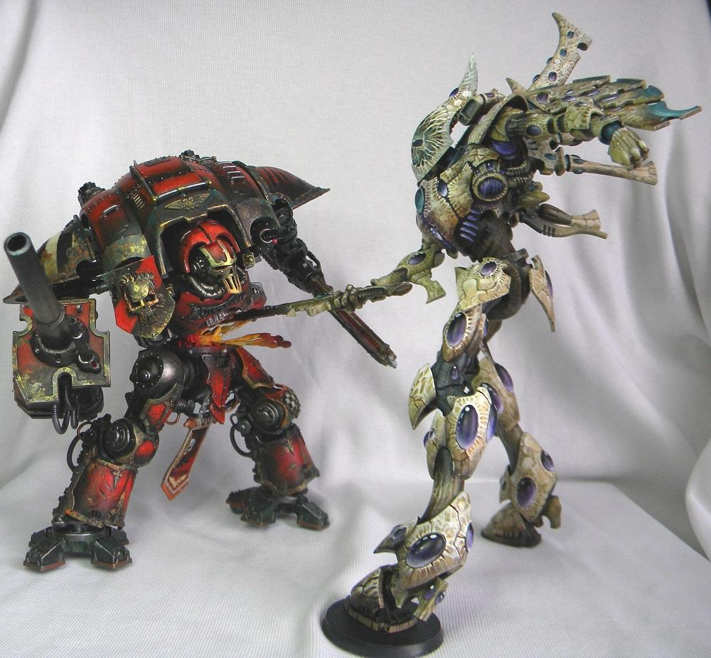 Duel, Freehand, Imperial Knight, Wraithknight