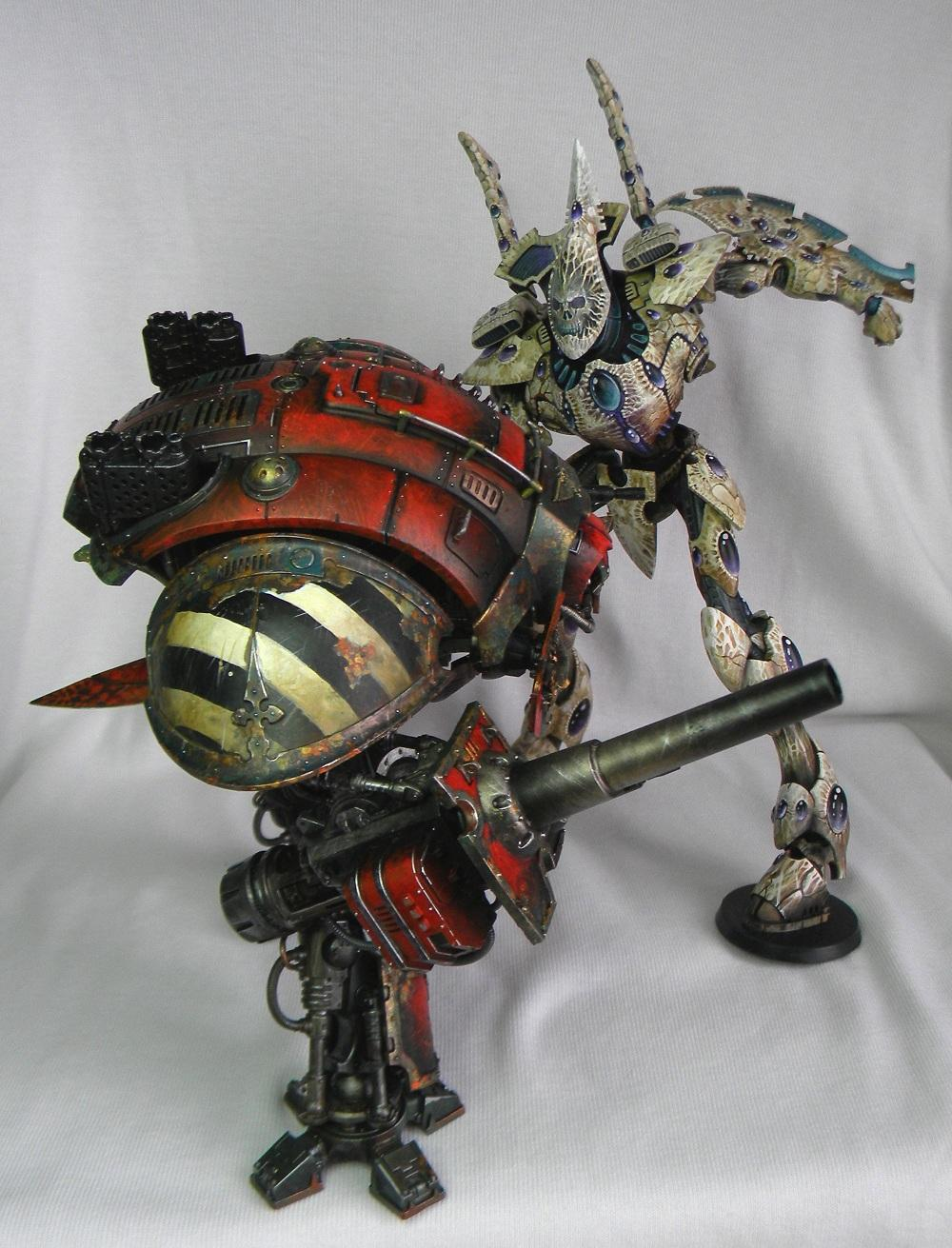 Eldar, Freehand, Imperial Knight, Wraithlord