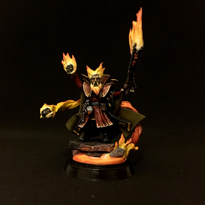 Bright Wizard, Conversion, Empire, Fire, Mage, Warhammer Fantasy, Wizard